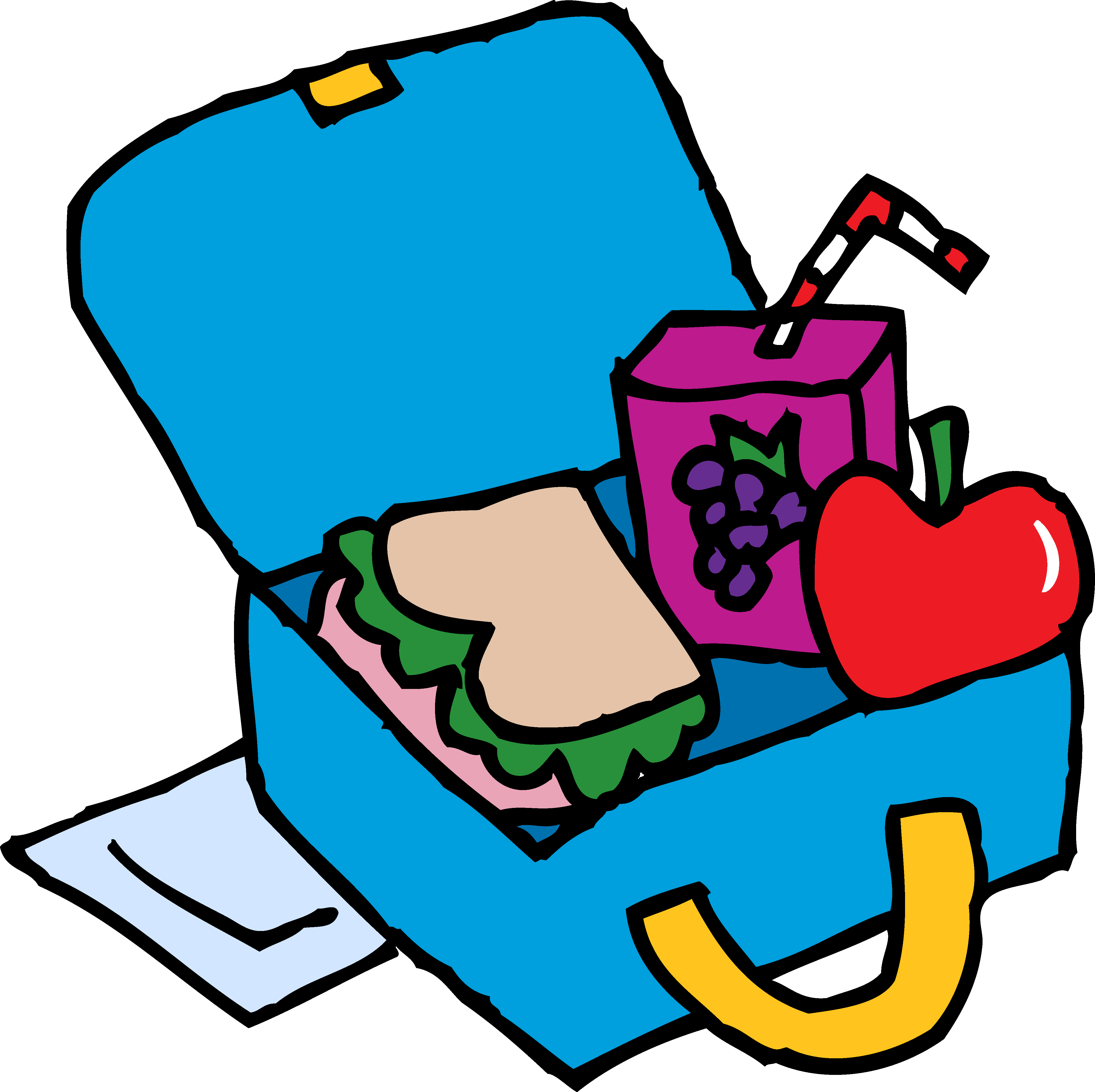 Lunchbox clipart red. Blue lunch box clip