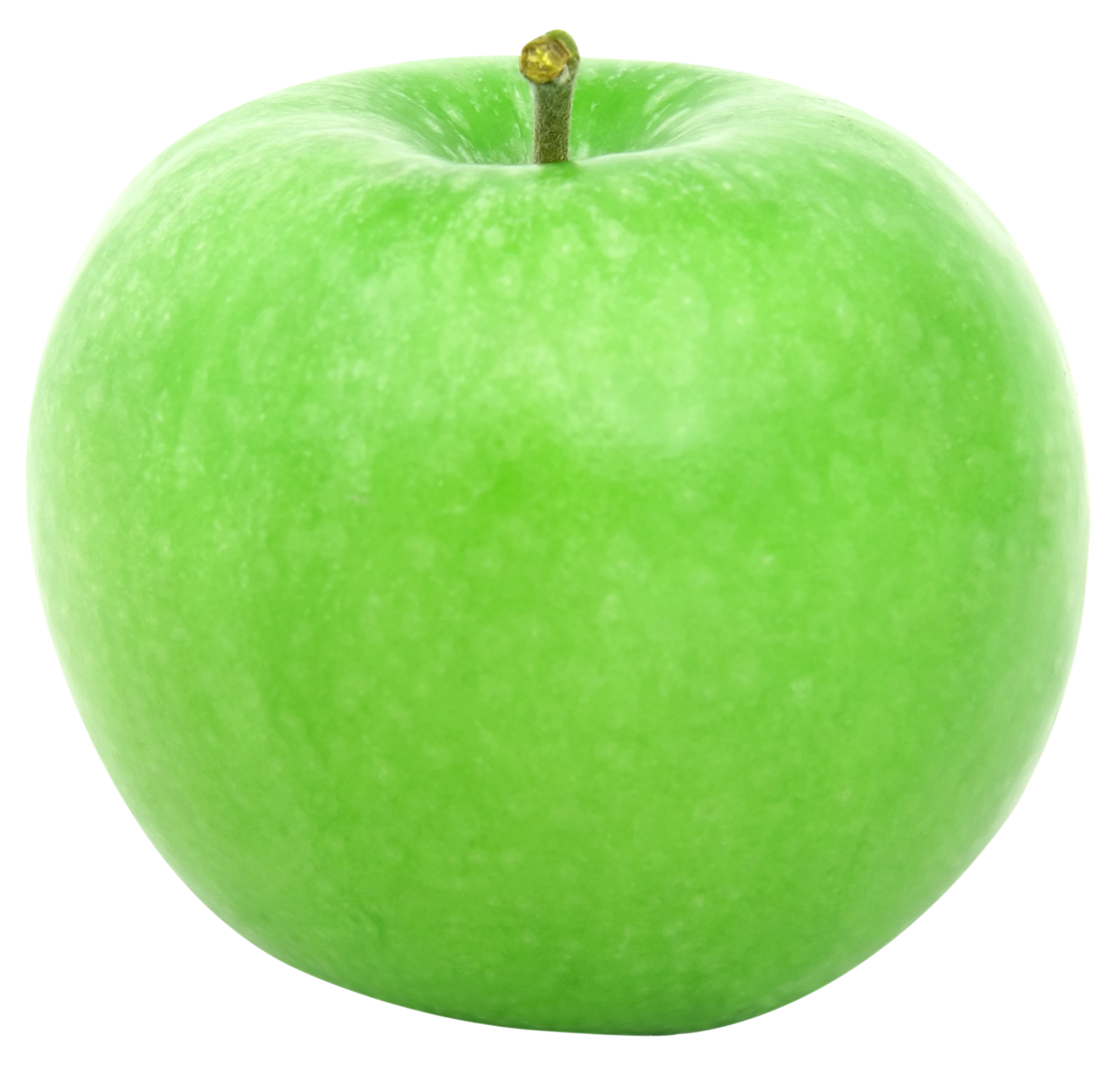 Green apple s png. Clipart apples solid