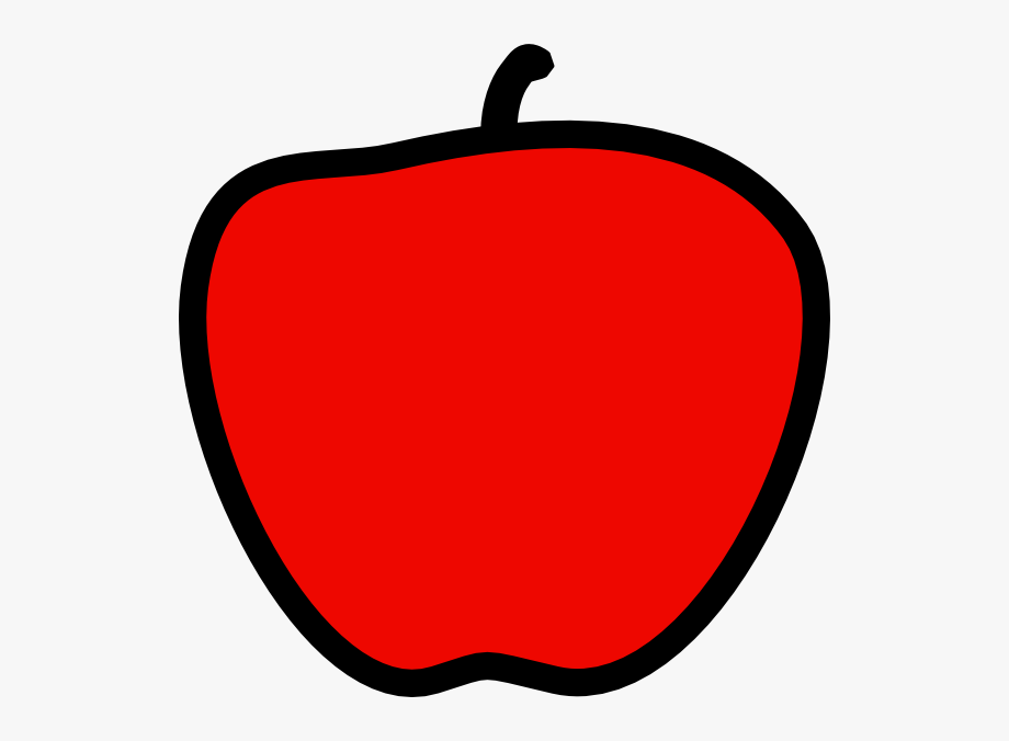 Free cliparts . Clipart apples solid