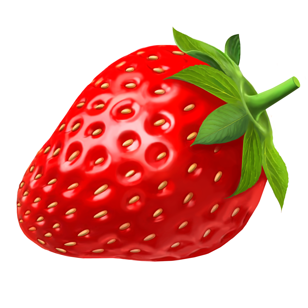 clipart fruit strawberry