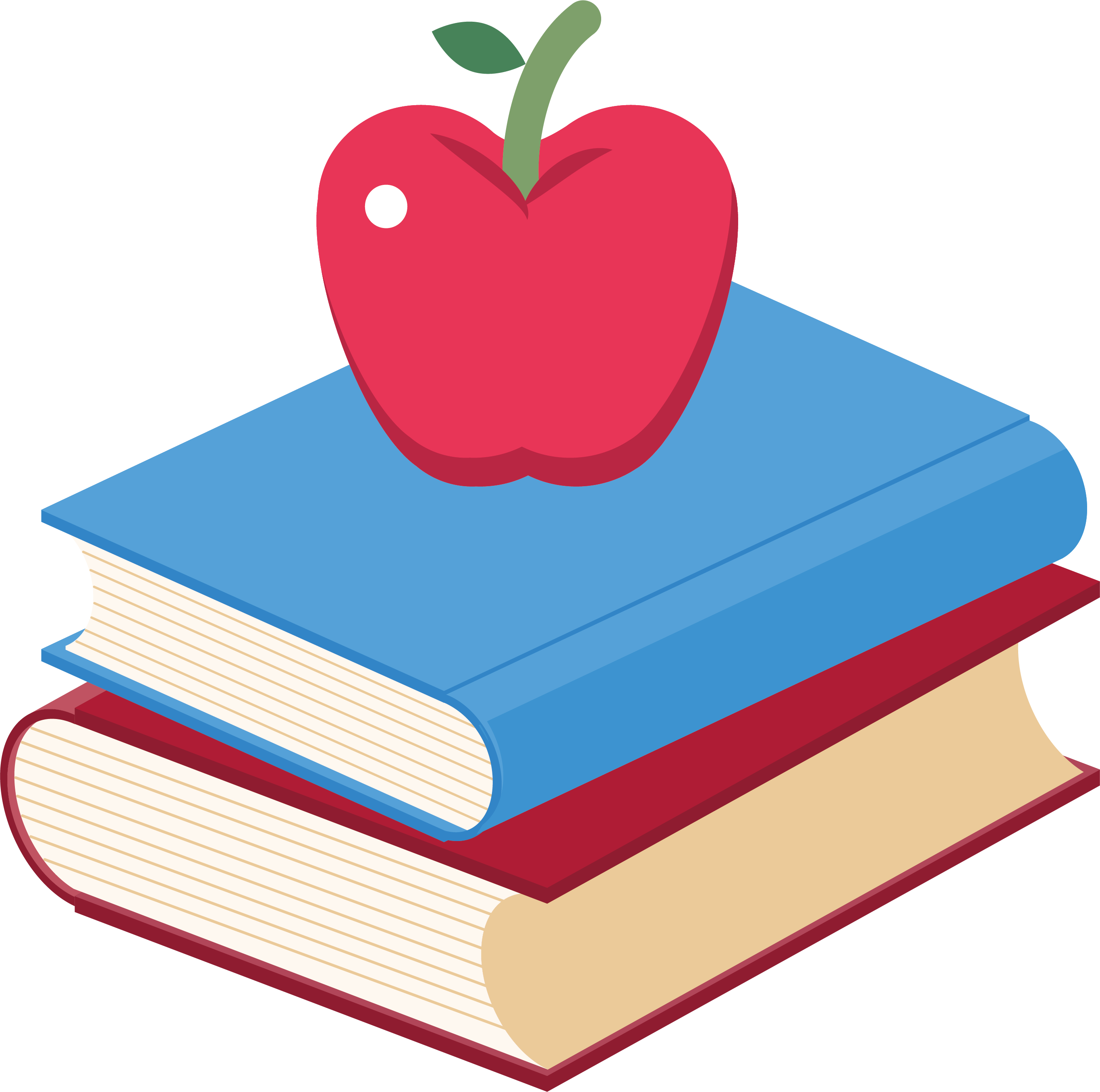 Apple clip art two. Knowledge clipart book