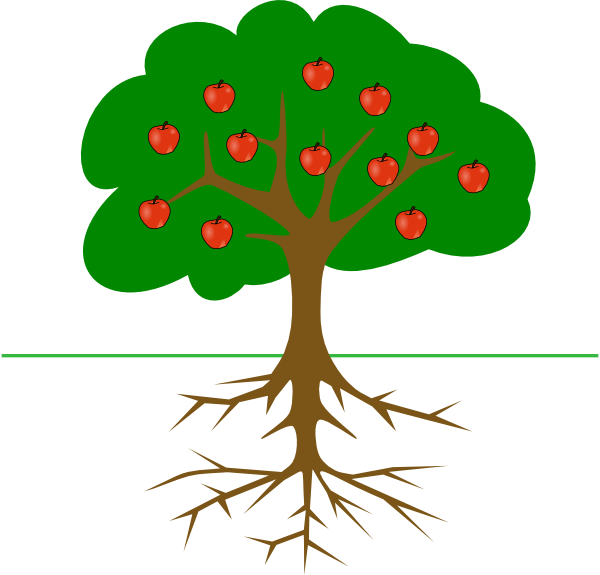 Clipart rose apple tree. Branch panda free images
