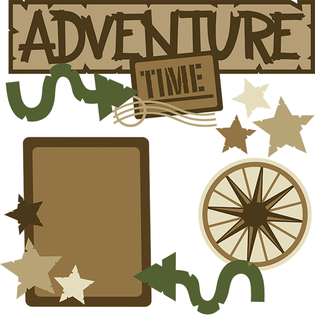 Adventure time svg files. Words clipart vacation