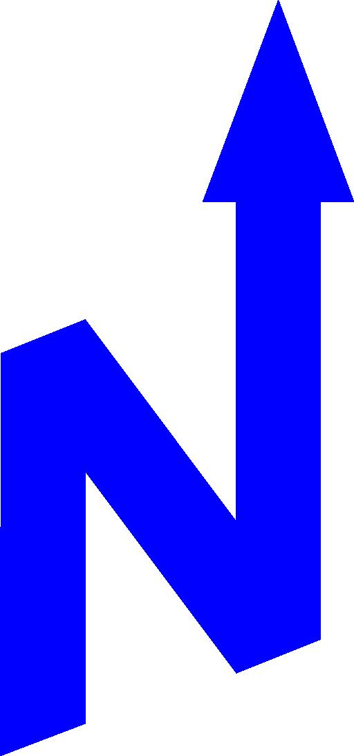 North arrow i royalty. Geography clipart orienteering
