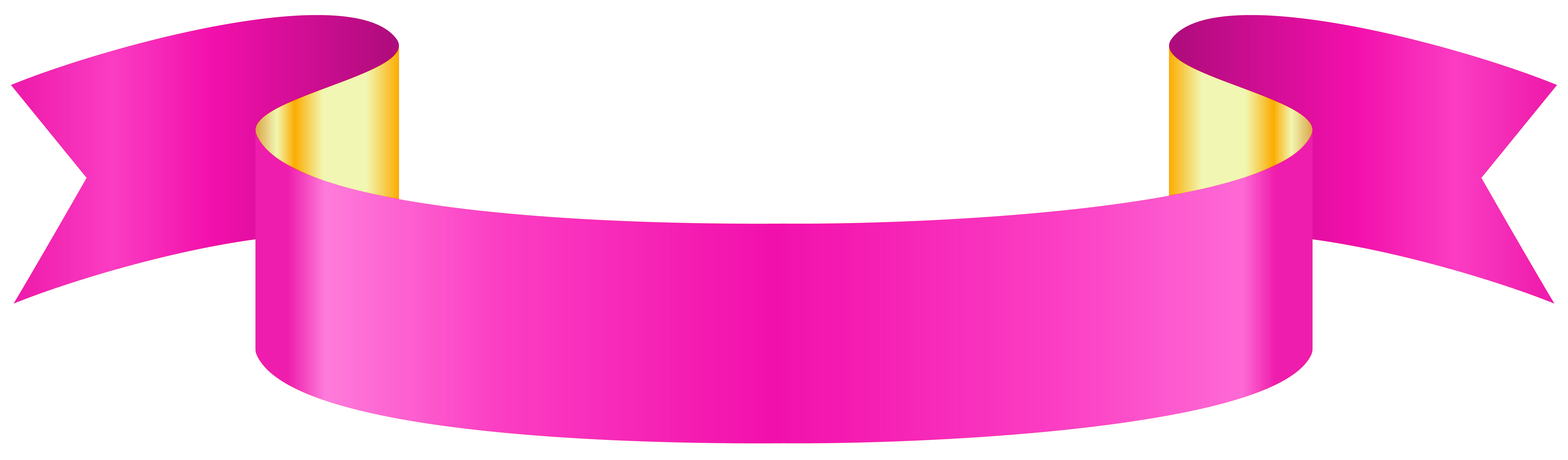 Banner transparent png clip. Diploma clipart pink