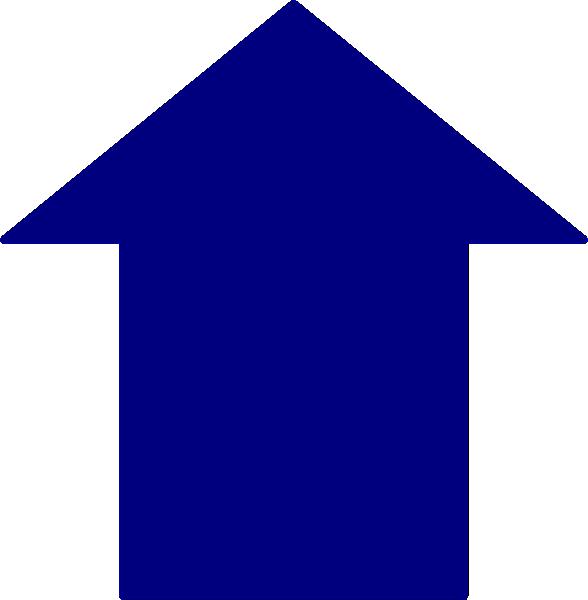 Clipart arrows future. Blue arrow clip art