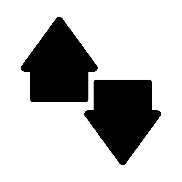 Clipart arrows creative. Arrow icon in flat