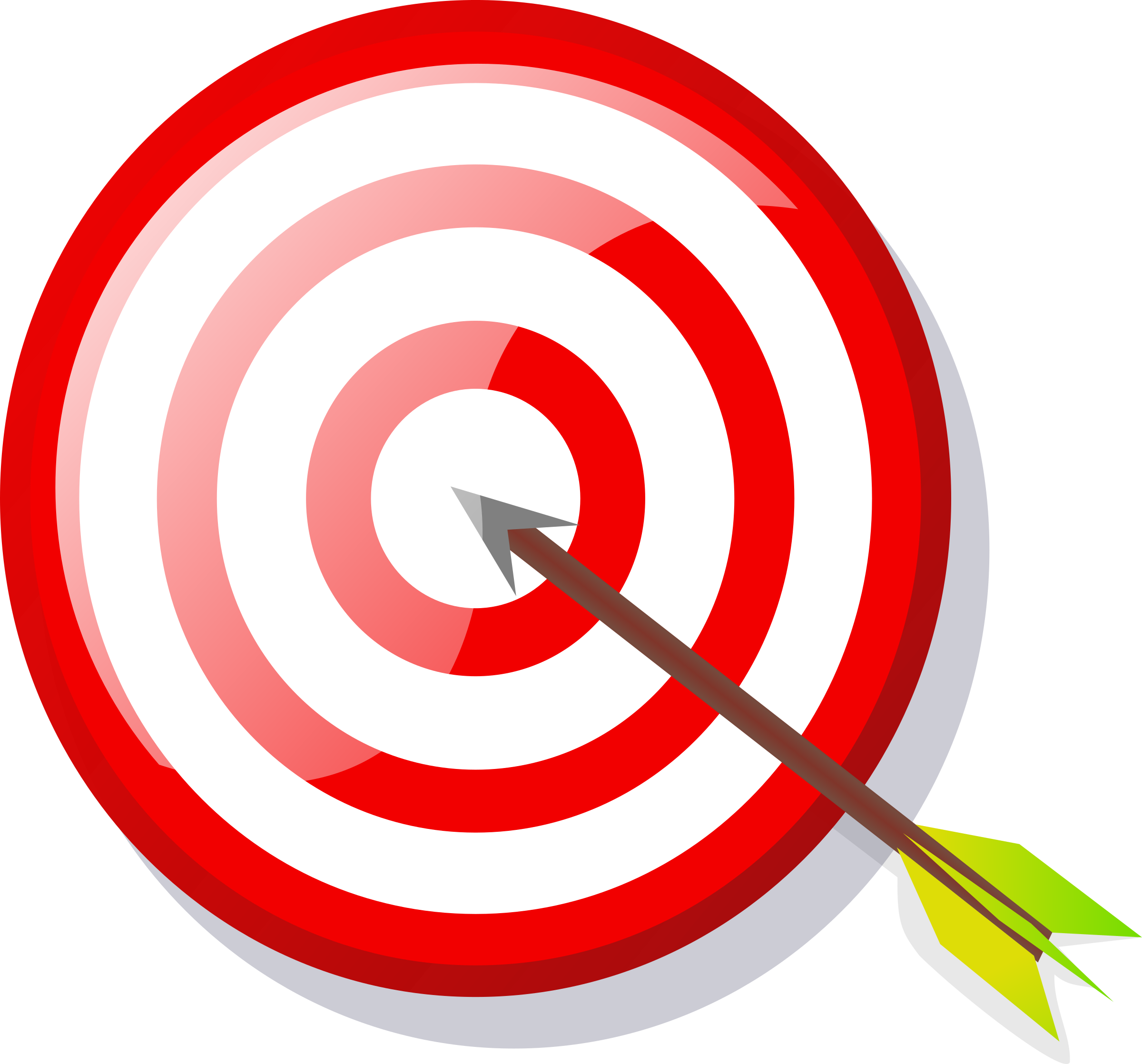 Motivation clipart goal target. With arrow big image