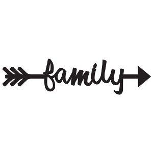 . Clipart arrow family