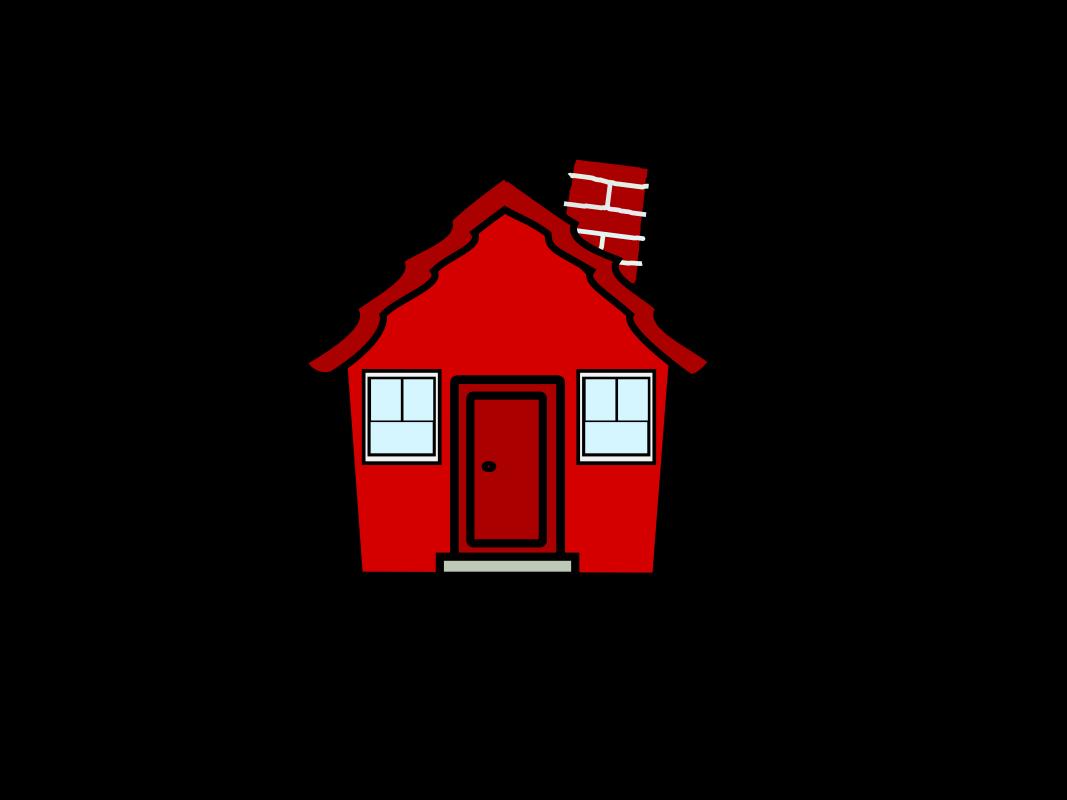 Farmhouse clipart cartoon.  erstaunlich red cliparthouseredcolor