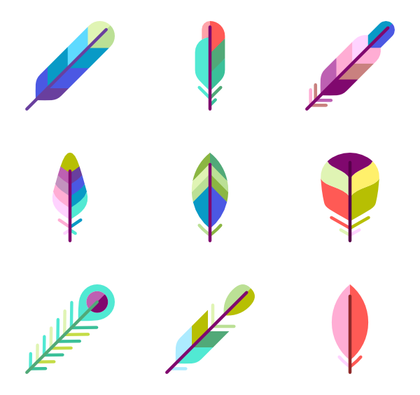 icon packs vector. Pencil clipart feather