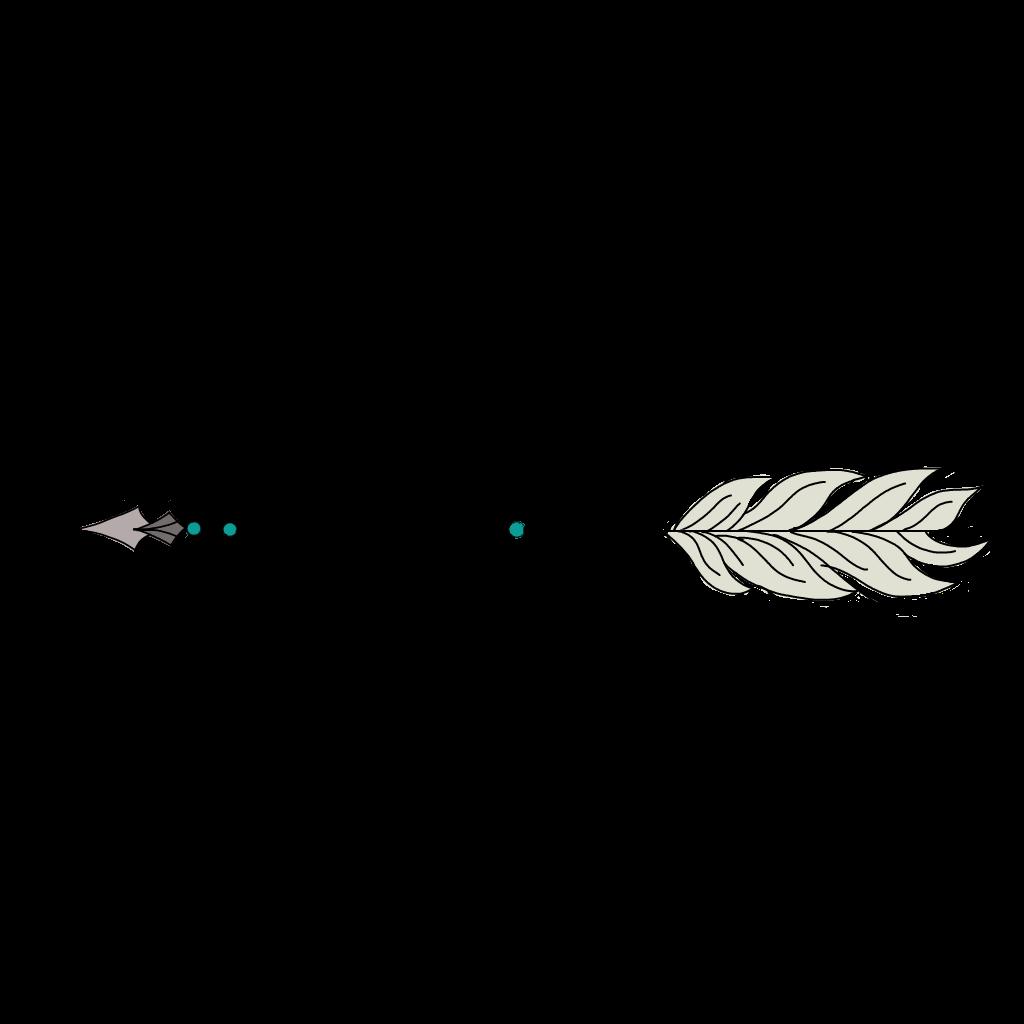 Ftearrows arrows feather cute. Feathers clipart arrow