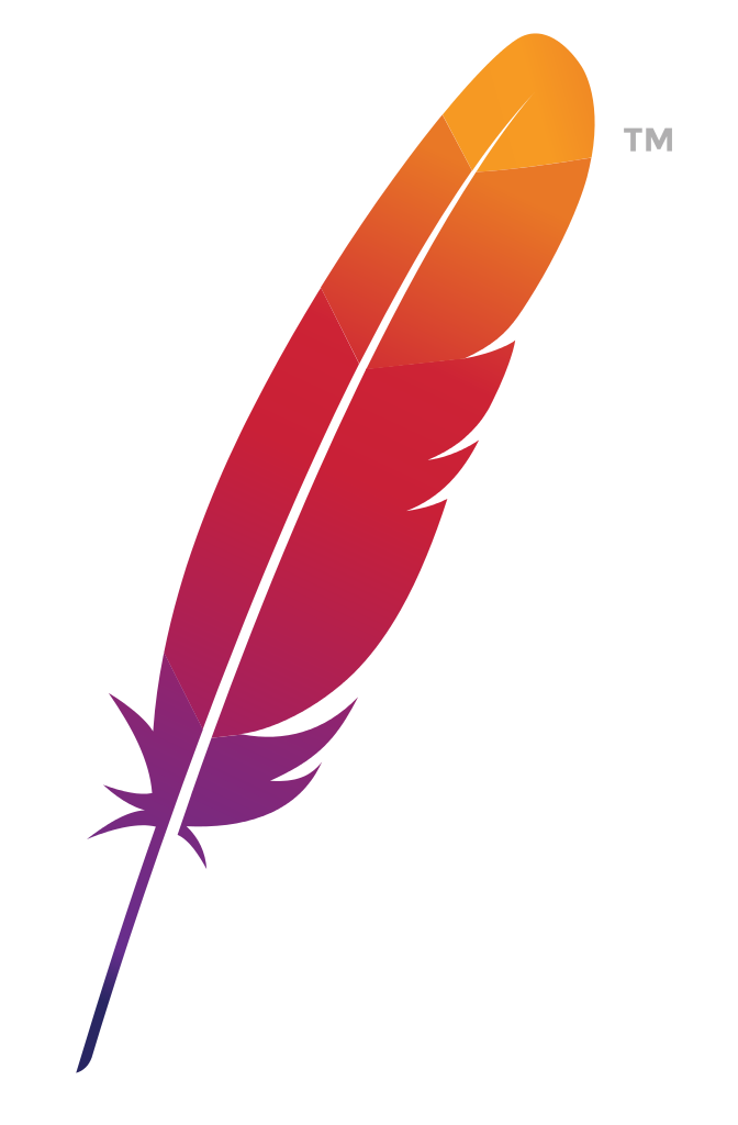 File apache logo svg. Feather clipart creative