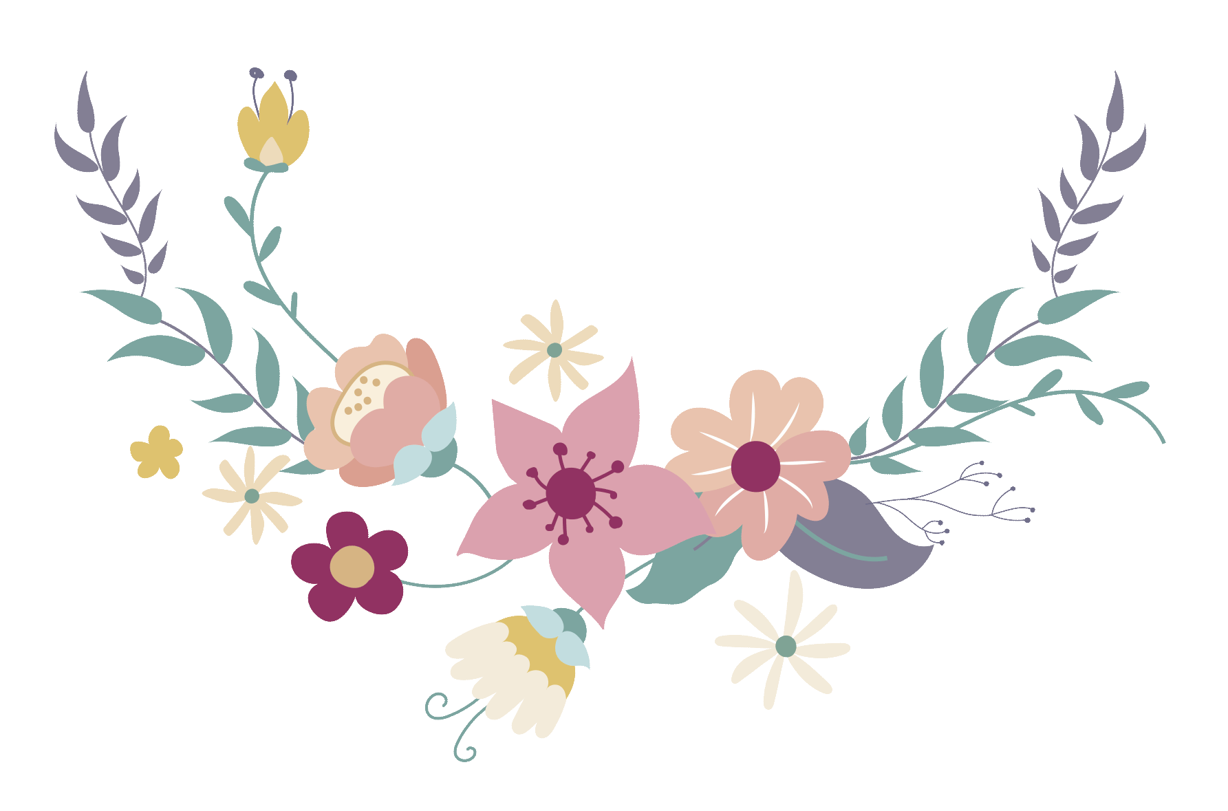 Clipart arrows flower. Im genes para invitaciones