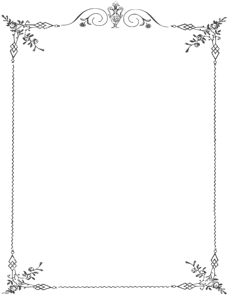 white picture frame png