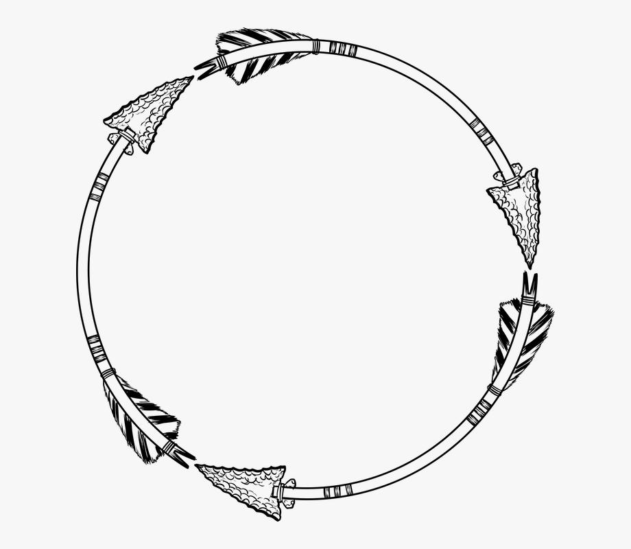 Clipart arrows frame. Arrow pointer direction circle