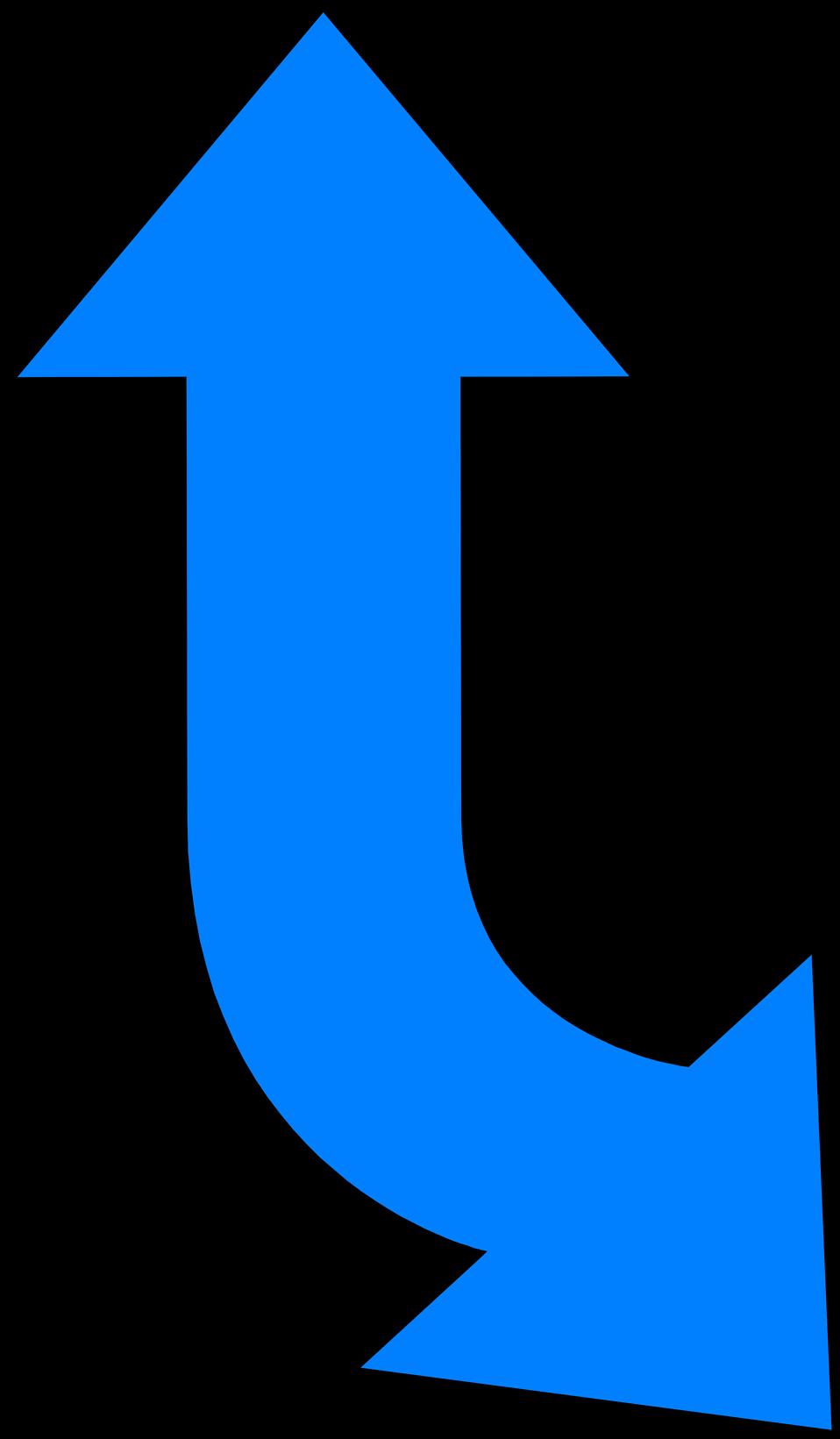 Up clipart arrow. Arrows blue free stock