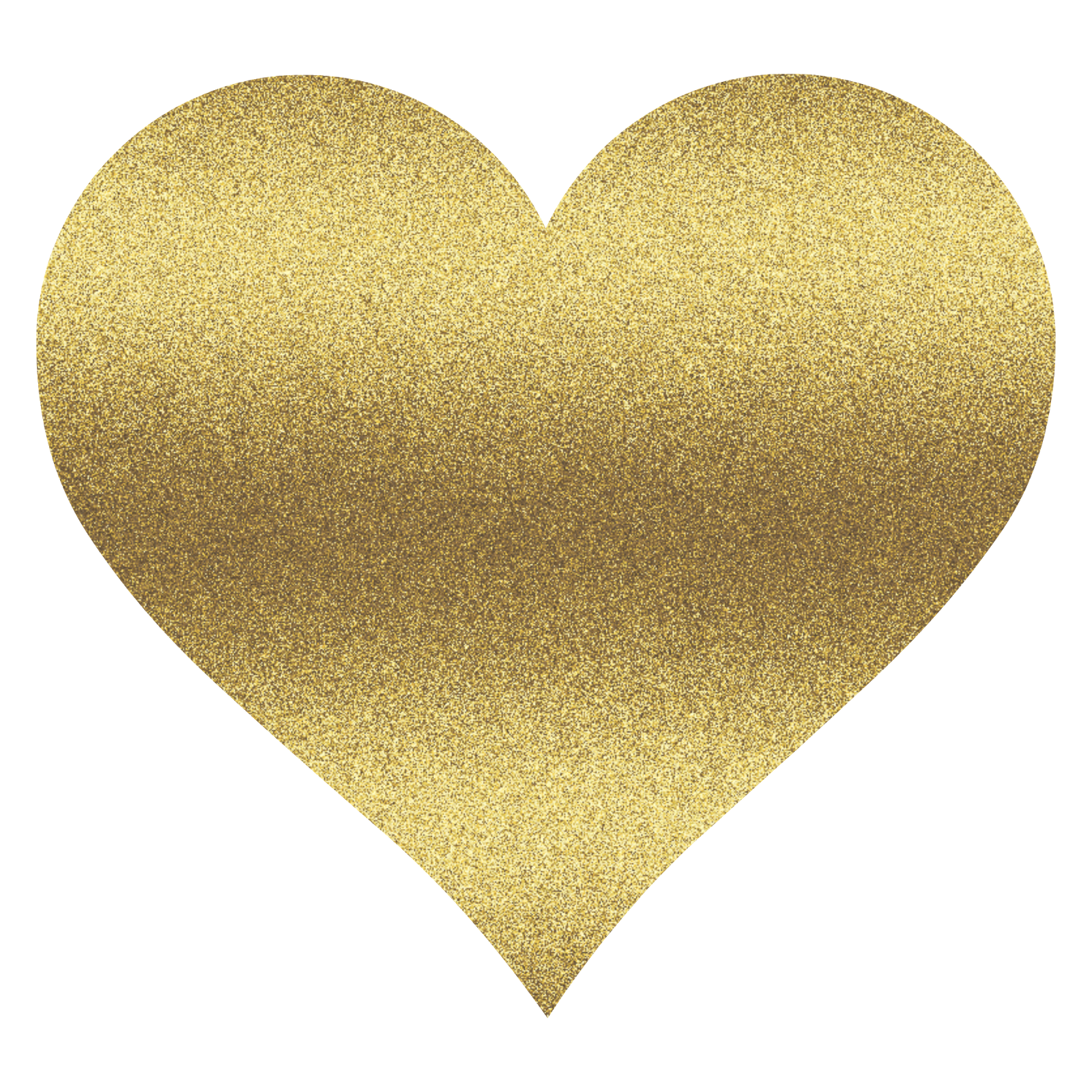 Gold heart png transparent. Glitter clipart glittery