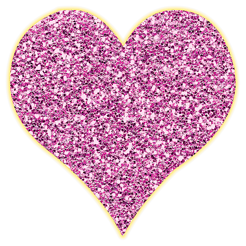 Lacarolita just beautiful png. Heart clipart glitter