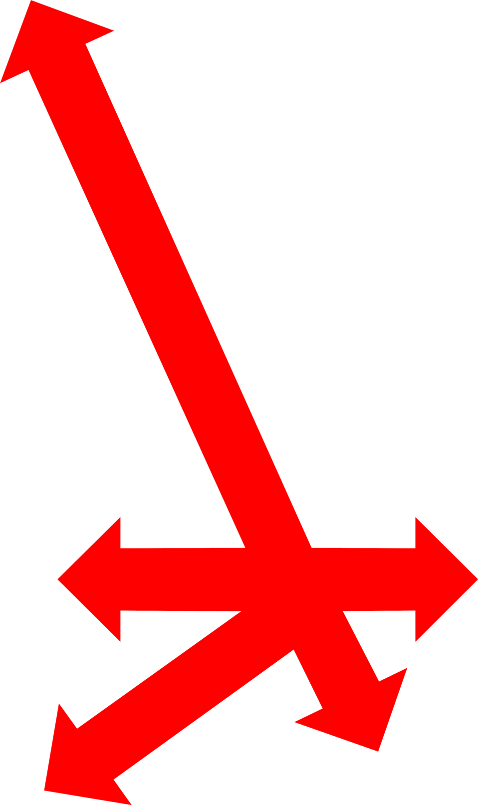 Arrows red free stock. Clipart arrow graph