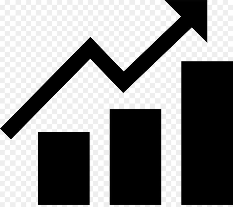 Bar chart graphics . Graph clipart arrow