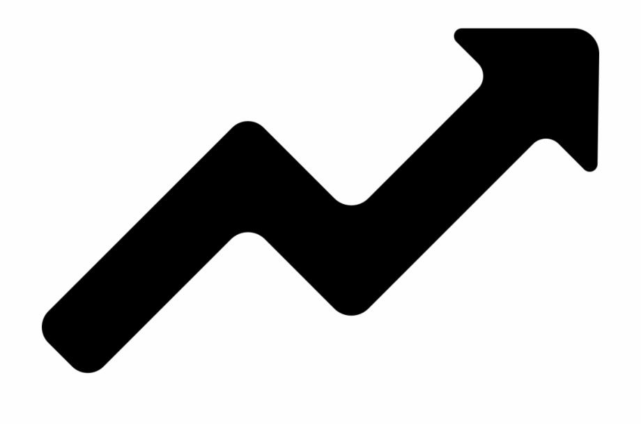 Clipart arrow graph. Arrows zig zag icon