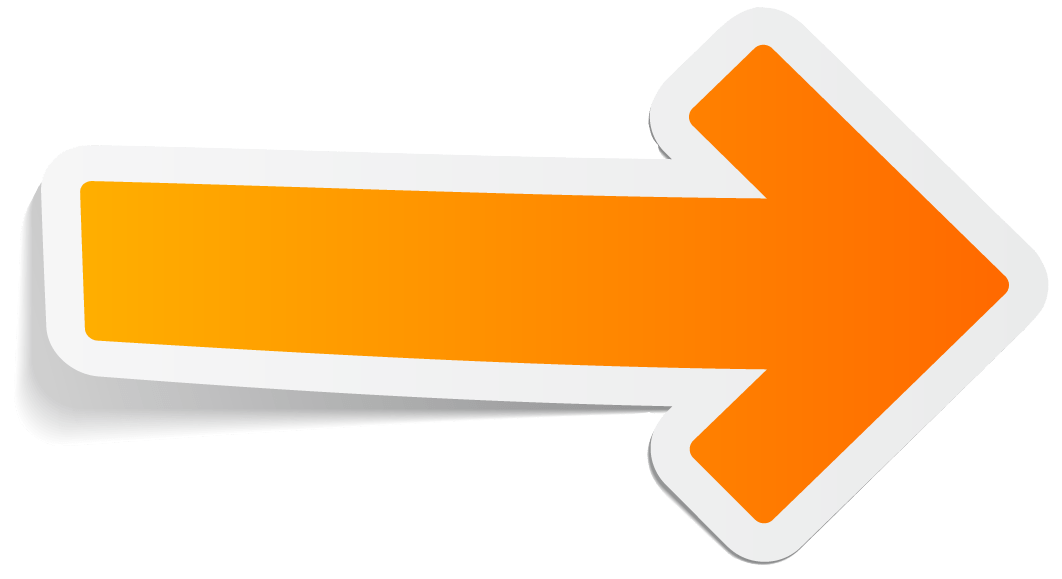 Clipart arrows orange. Arrow grey rounded right