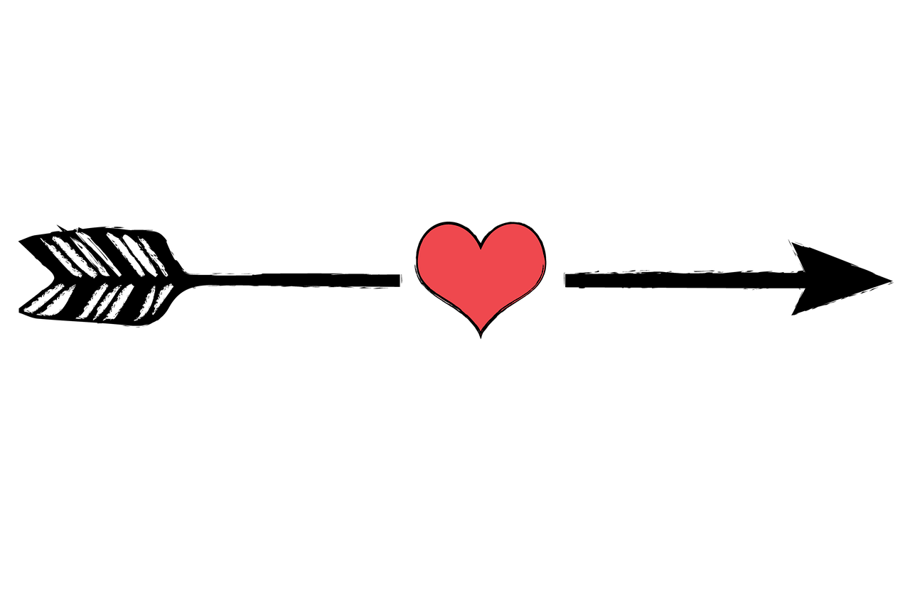 Clipart arrows heart. Free image on pixabay