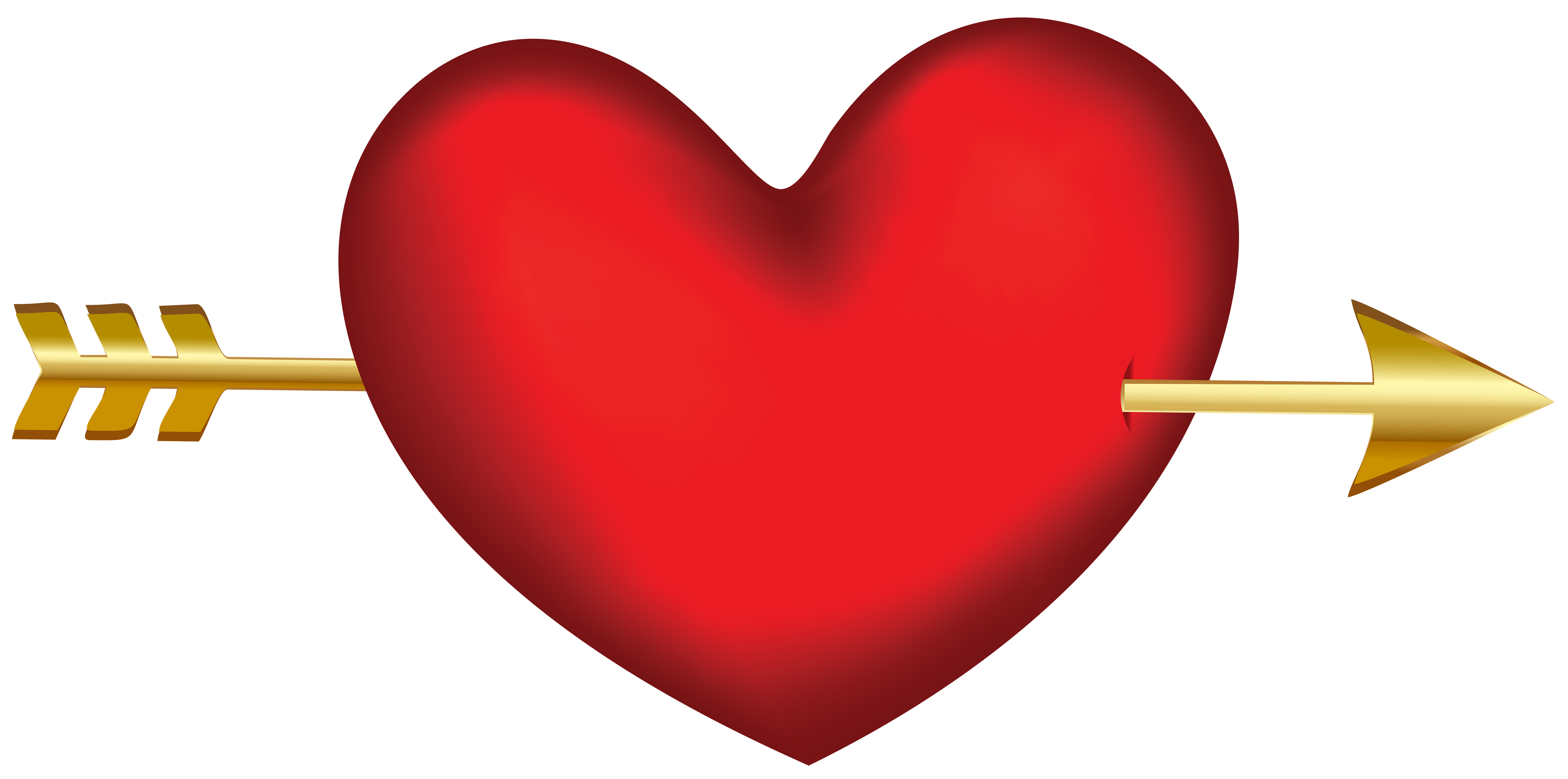 With arrow transparent clip. Clipart halloween heart