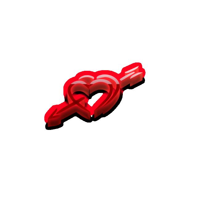 Clipart arrows love. And arrow romantic flower