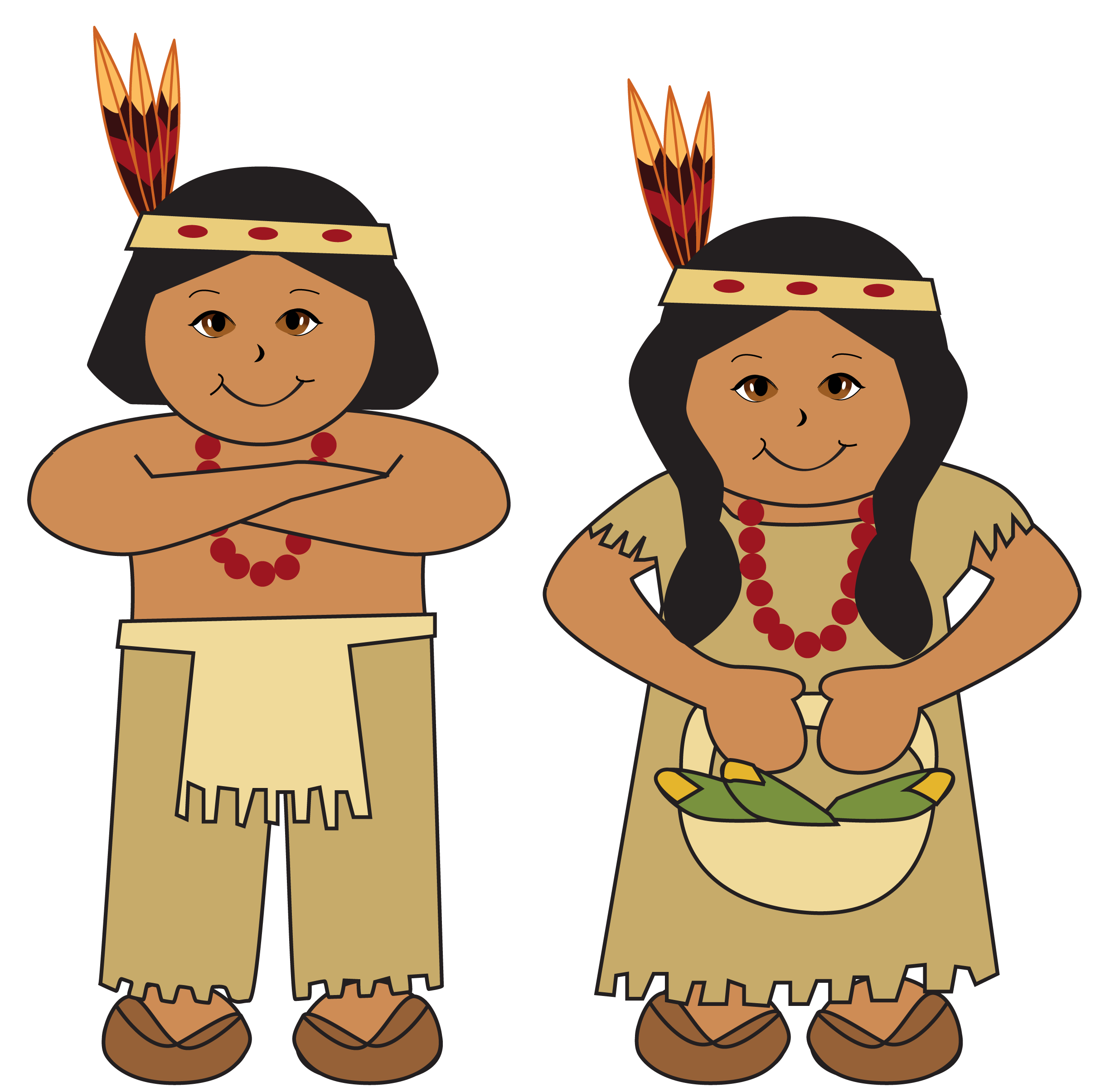 Respect clipart middle childhood. Native americans picture indian