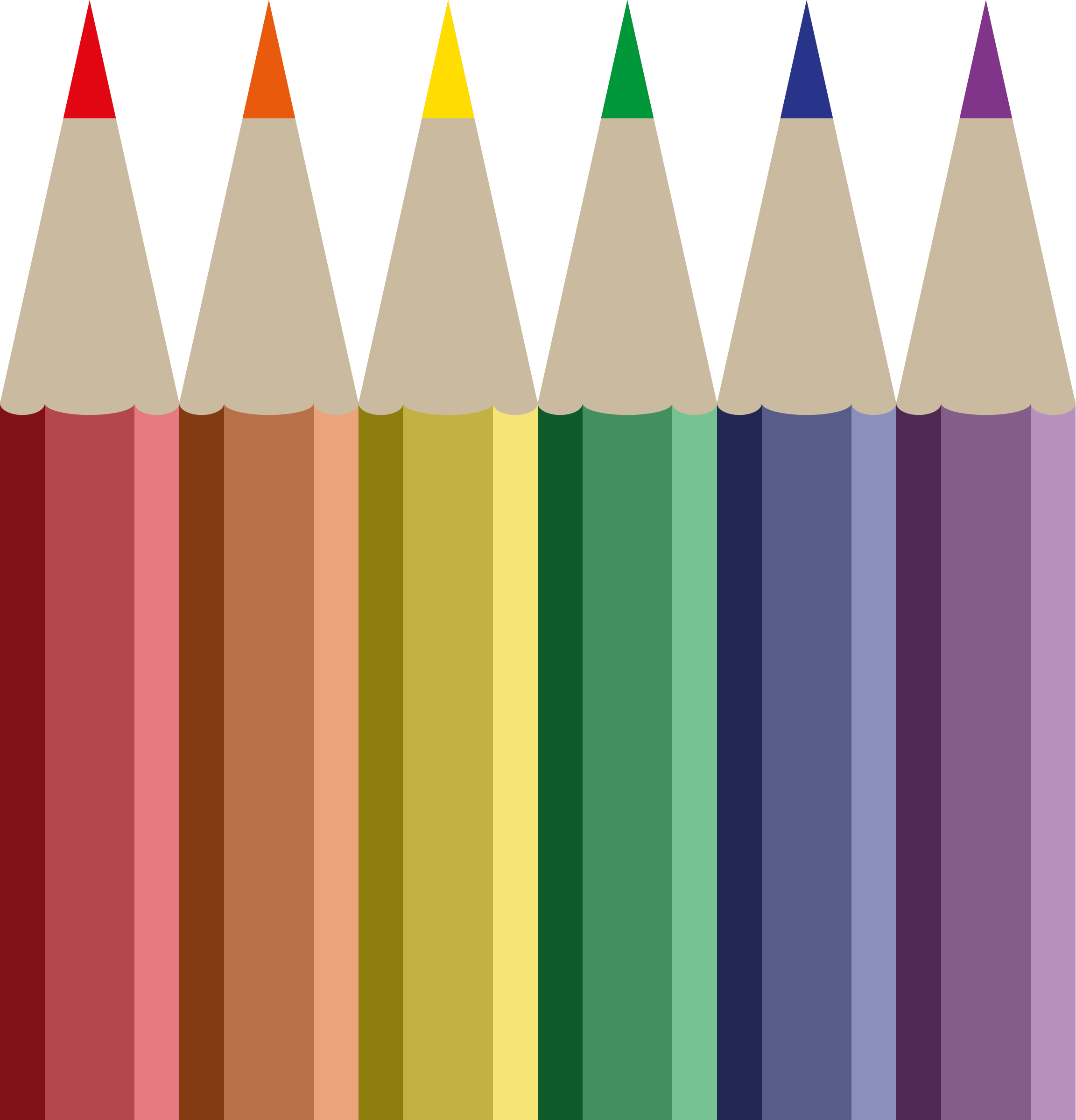 Crayons clipart colored pencil. Download and use png