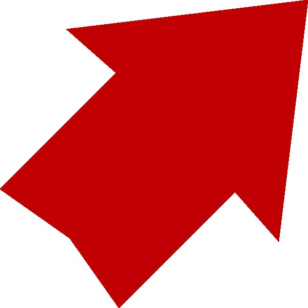 Clipart arrows plain. Red arrow clip art