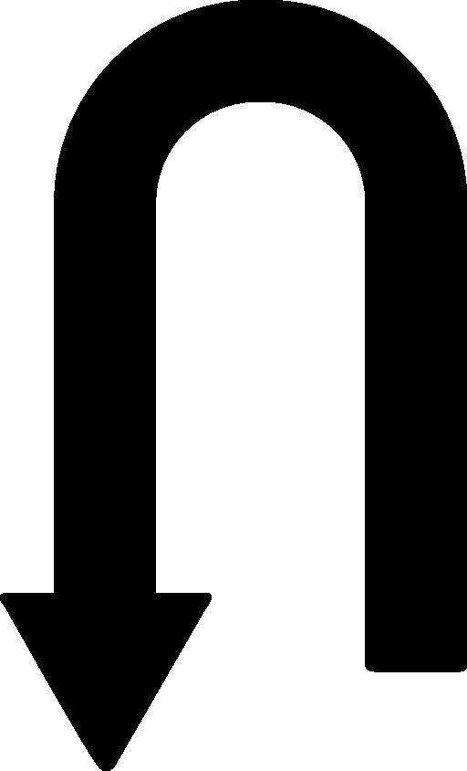 Clipart arrows primitive. Curve arrow point to