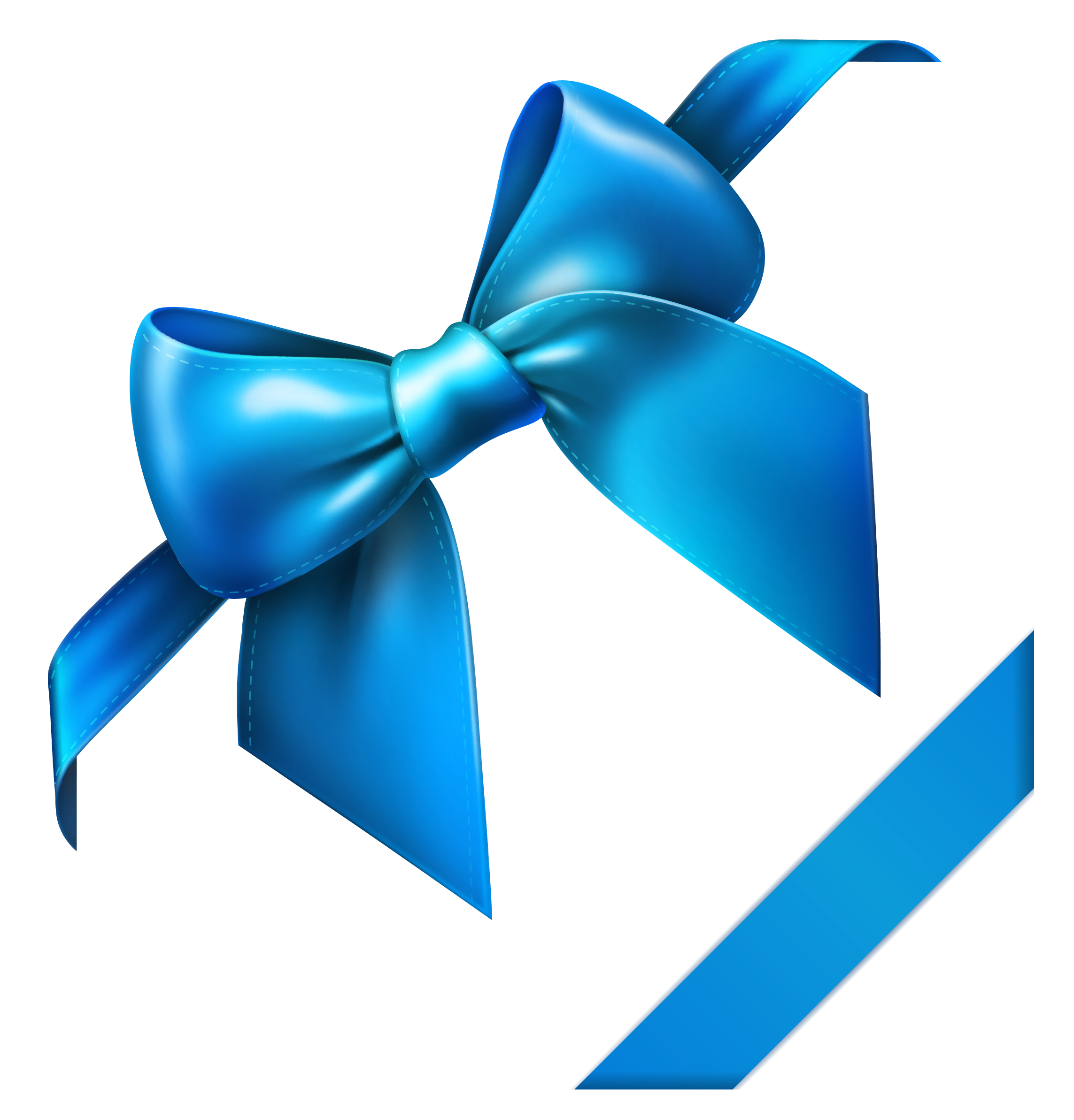clipart bow turquoise bow