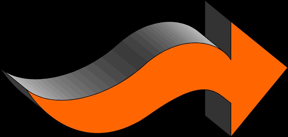 Pointing clipart forward arrow. Free stock photo illustration