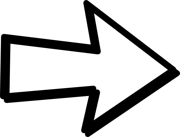 Clipart arrows right. The girls transparent arrow