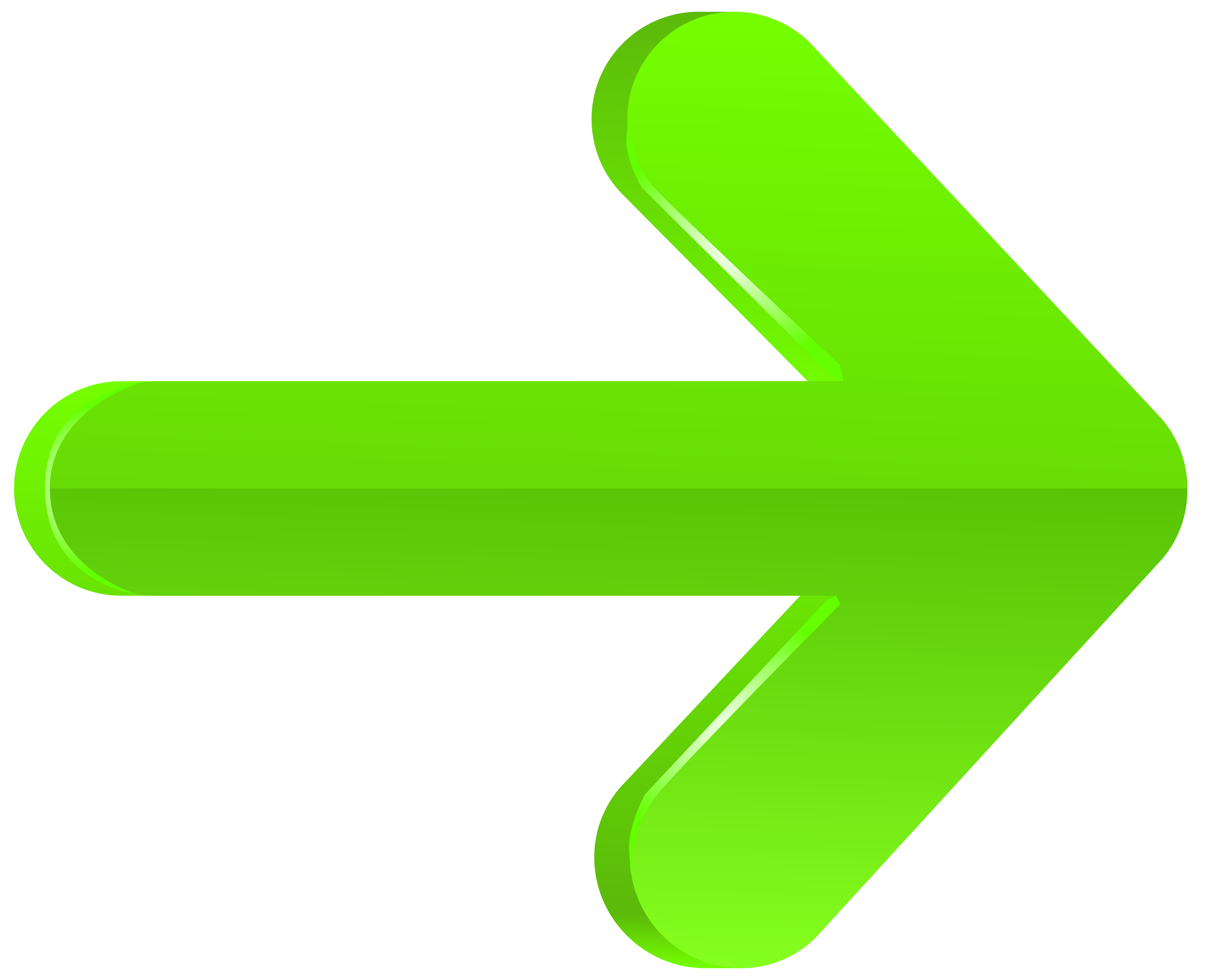 Finger clipart arrow. Right green png transparent