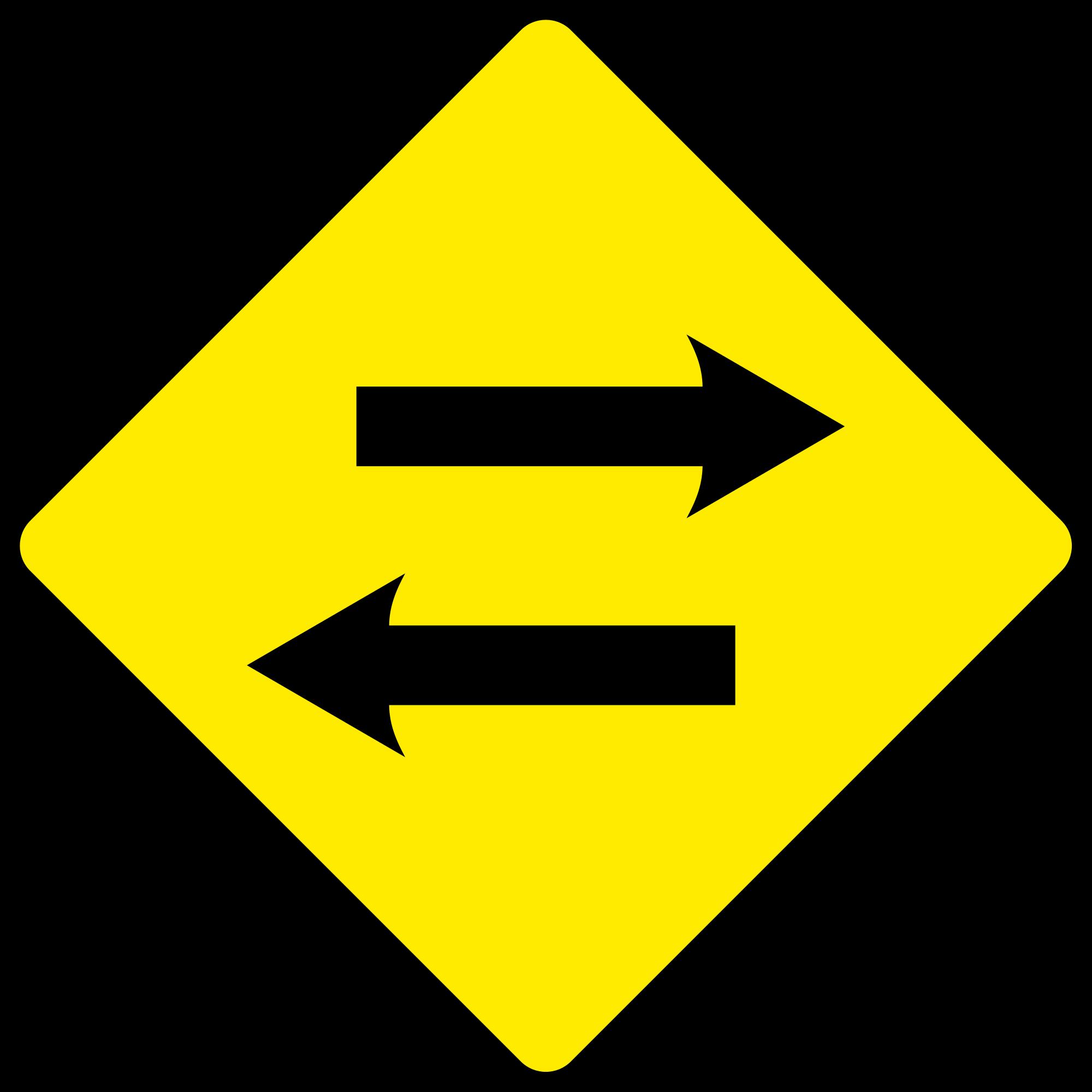 Sign arrow png excellent. Clipart road curving