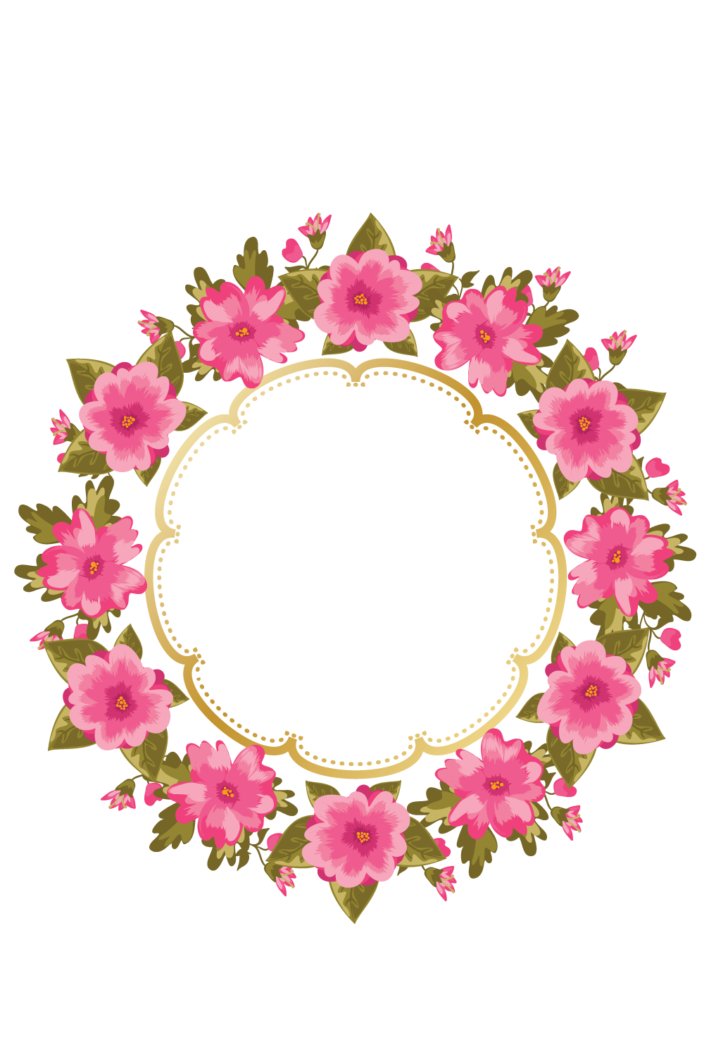 Watercolor flower wreath png. Http e top net