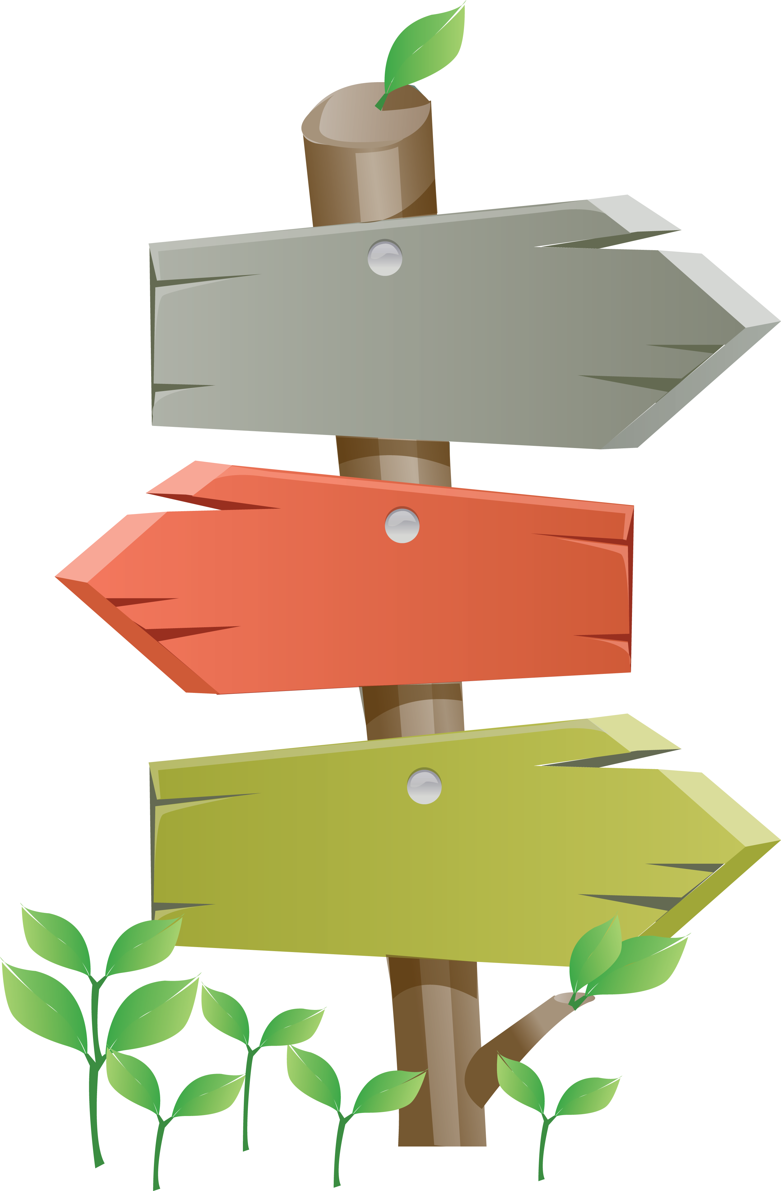 Clipart arrows signboard. Direction position or indication