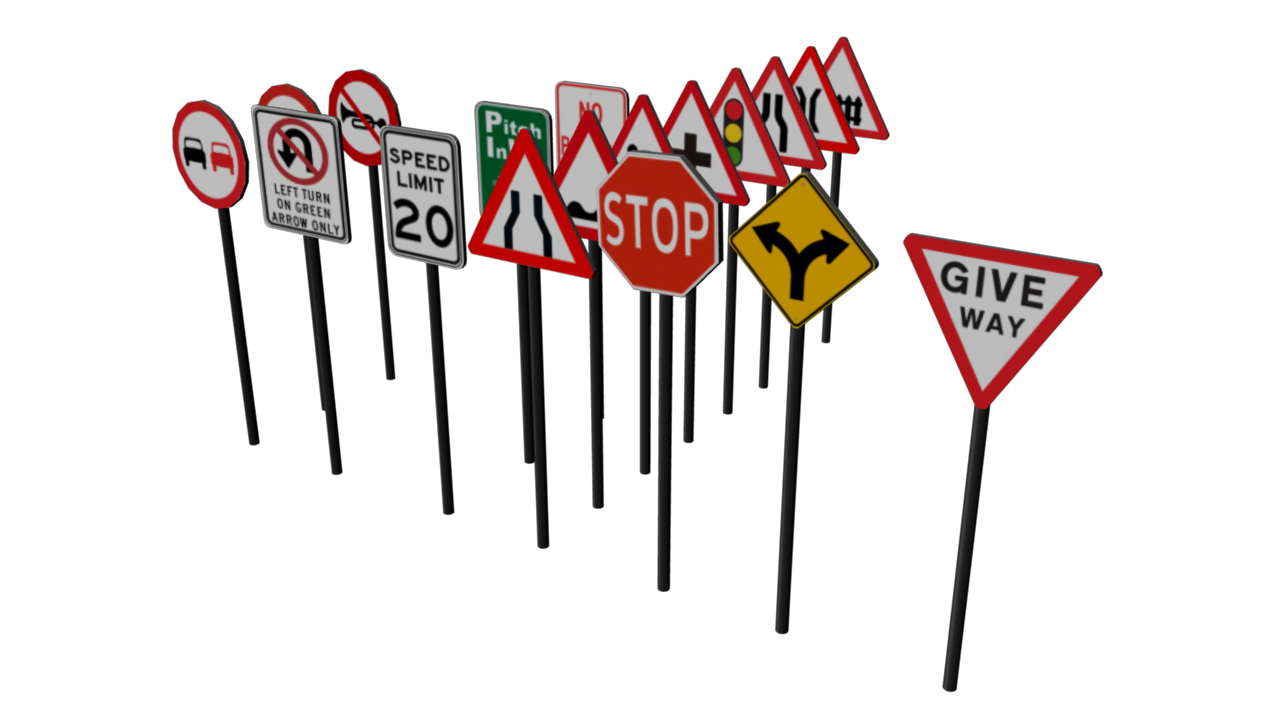 Clipart arrow signboard. Traffic by fiveaxiomsinc docean