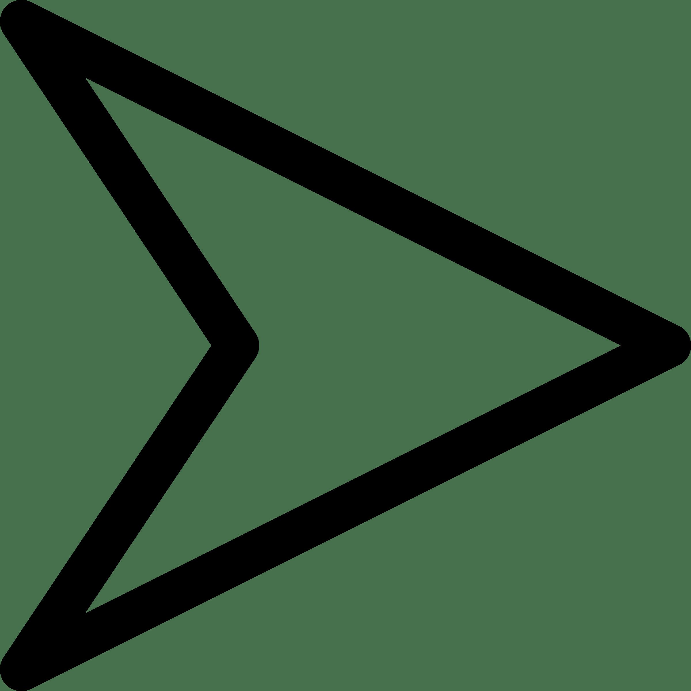 Triangular clipart clear background. Triangle arrow left transparent