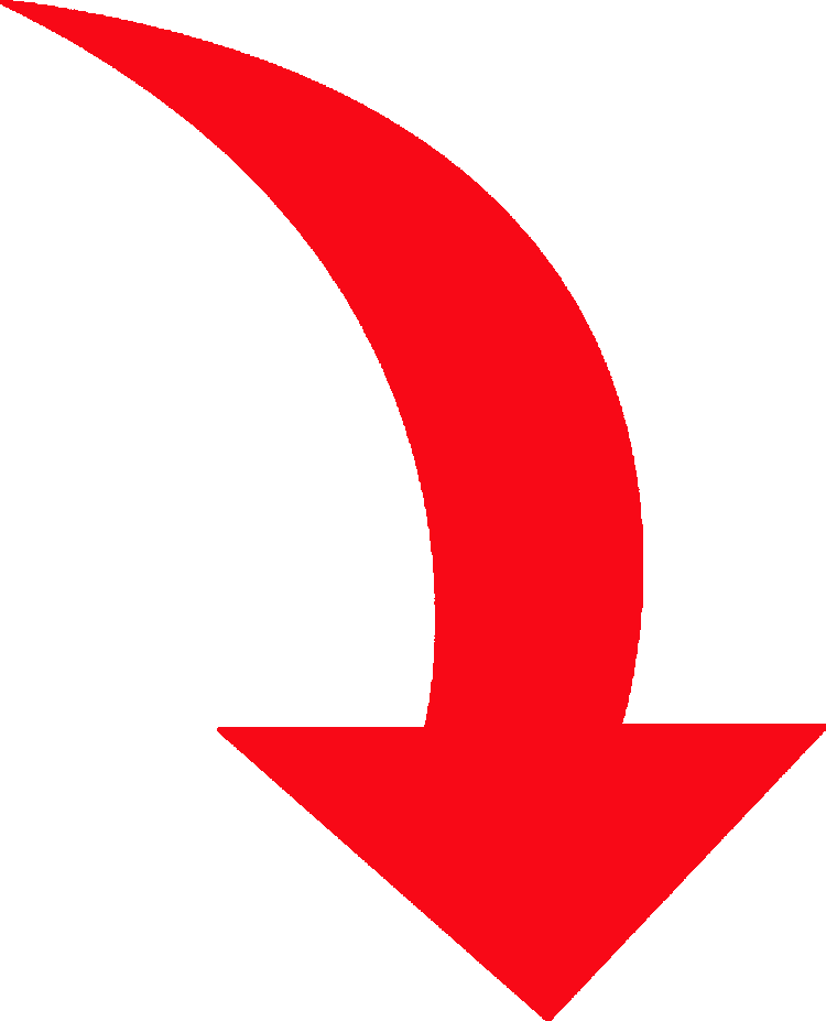 Clipart arrow swoosh. Red image group curved