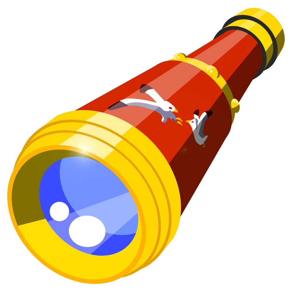 Image telescope the waker. Magic clipart wind