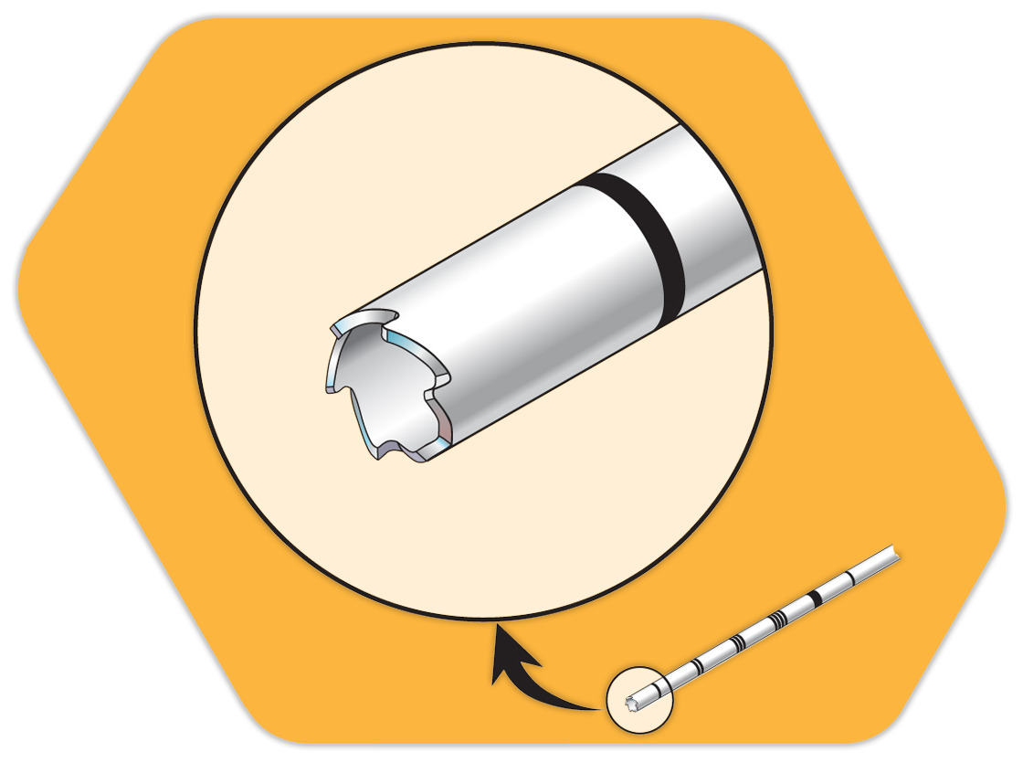 Versatile options for powered. Needle clipart biopsy