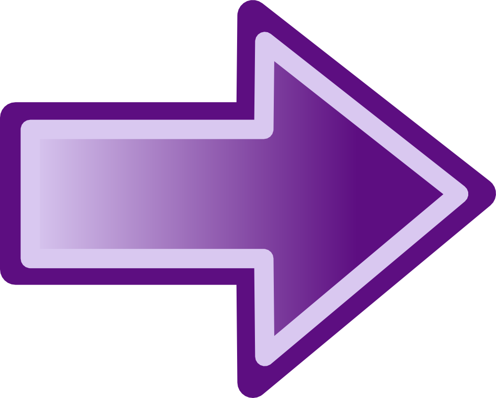 Training clipart senior management. Big purple arrow riccall