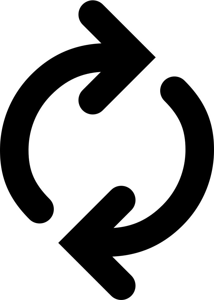 Progress svg png icon. Clipart arrows faith