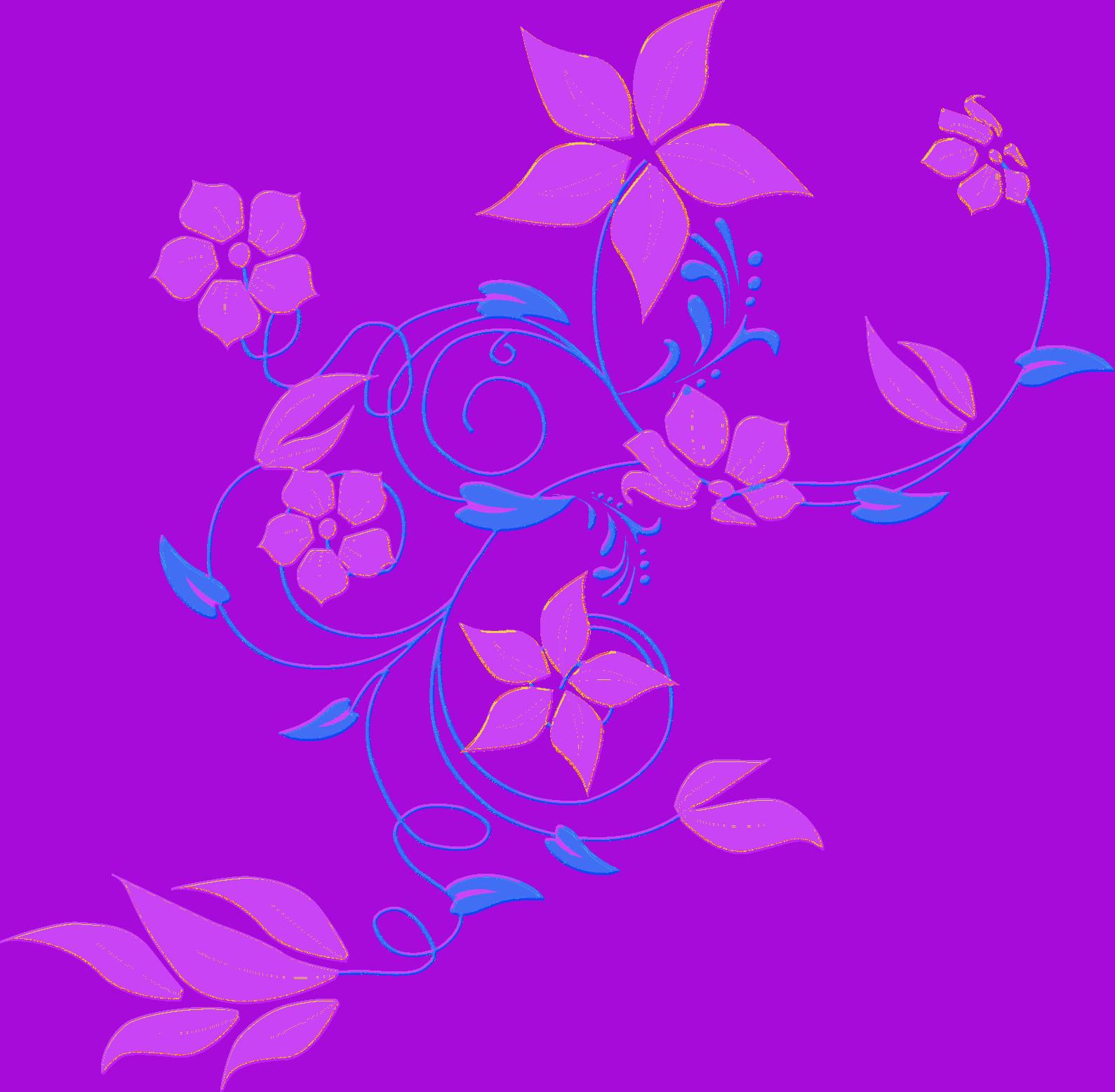 Vines clipart purple flower. Image vector clip art