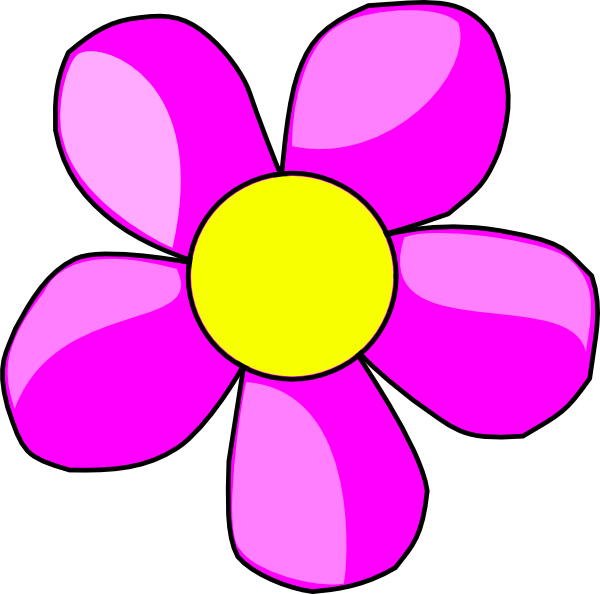 Clip art flowers purple. Clipart arrows flower